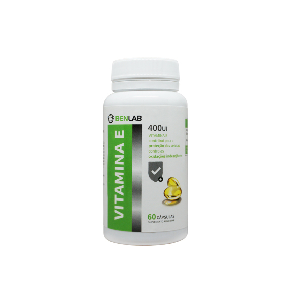exc1072 benlab vitamina e 400 ui 60 comp fitness, nutrition