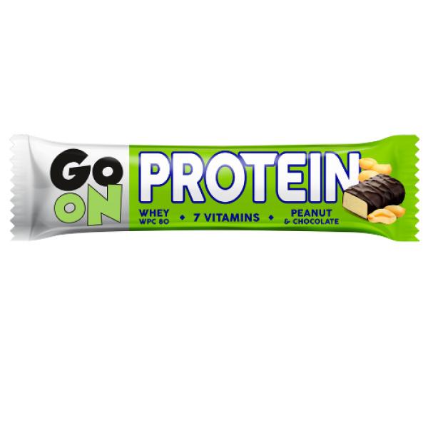 p1sante2402 5x go on barra proteica amendoim 50g fitness, nutrition