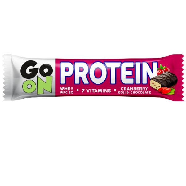 p1sante5055 24x go on bar cranberry 50g fitness, nutrition